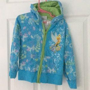 Other - Tinkerbelle Disney fairies zipper hoodie
